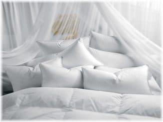 виды подушек для спальни