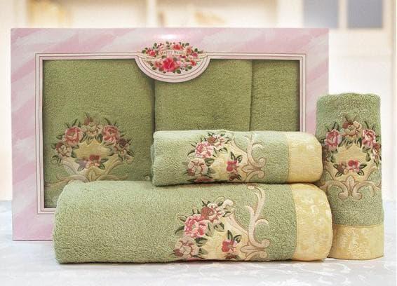 полотенца в красивой упаковки
