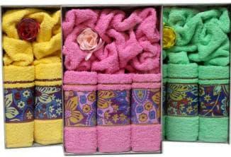 полотенца на подарок