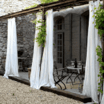 шторы для уличной веранды