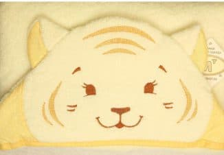 полотенце с мордочкой льва