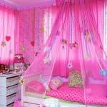 дизайн штор в детскую для девочки