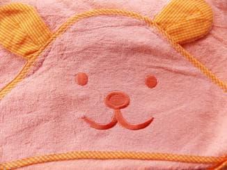 выбор полотенца для новорожденого