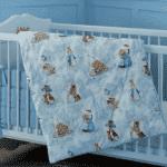 одеяло в кроватку для новорожденного