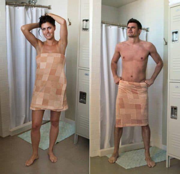 полотенца на липучках