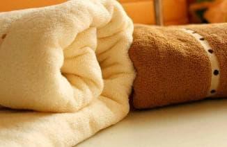 разновидности банных полотенец