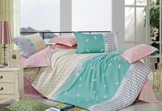 размеры полуторного постельного белья