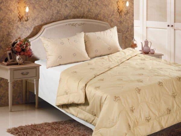 одеяло на кровать евро размера