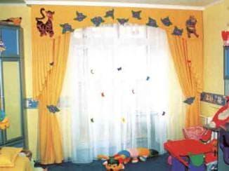 шторы для мальчика дошкольного возраста