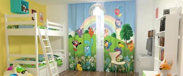 шторы для дошкольника