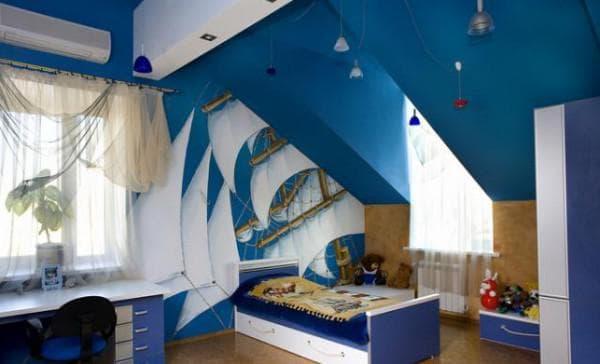 шторы для школьника