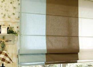 римские шторы производства икеа