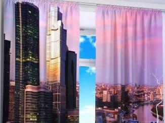 шторы с 3д эффектом