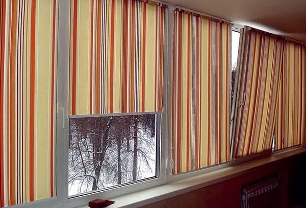 рулонные шоры для пластиковых окон