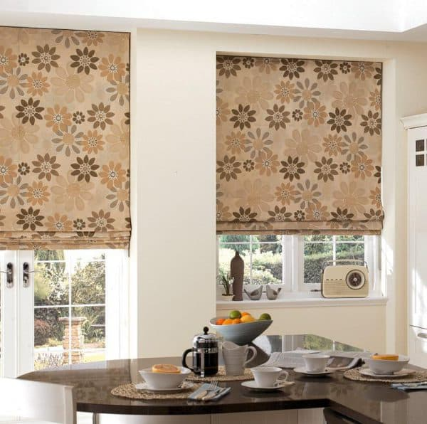 шторы для кухни леруа