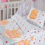 какие размеры детского постельного белья в кроватку