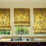 Римские шторы в Леруа Мерлен: качество и изысканность