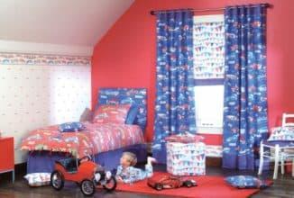 описание штор для детской мальчика