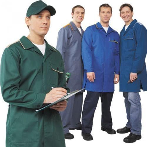 мужские рабочие халаты
