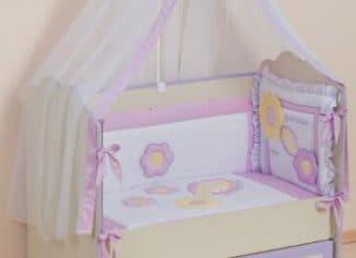 размеры белья для кроватки