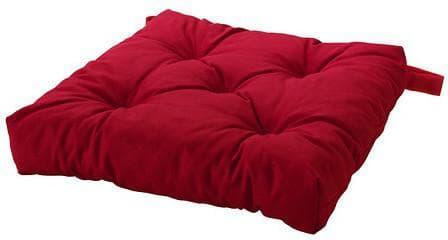 подушка Малинада красного цвета