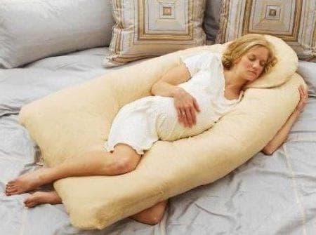 Подушка для беременных как спать