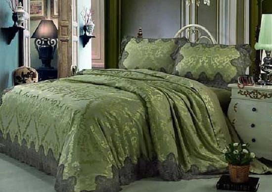 blumarine постельное белье с кружевами