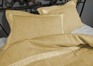 комплекты белья из льна