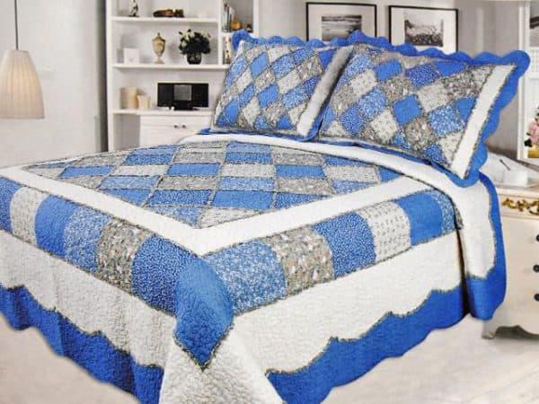 стёганое одеяло пэчворок