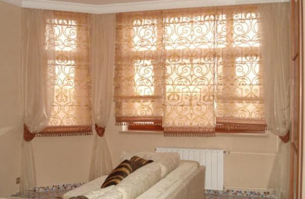 греко-римские шторы