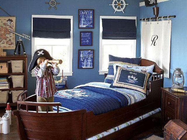 комната юнного моряка