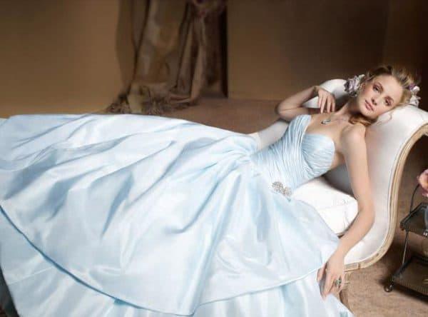 тафта свадебное платье
