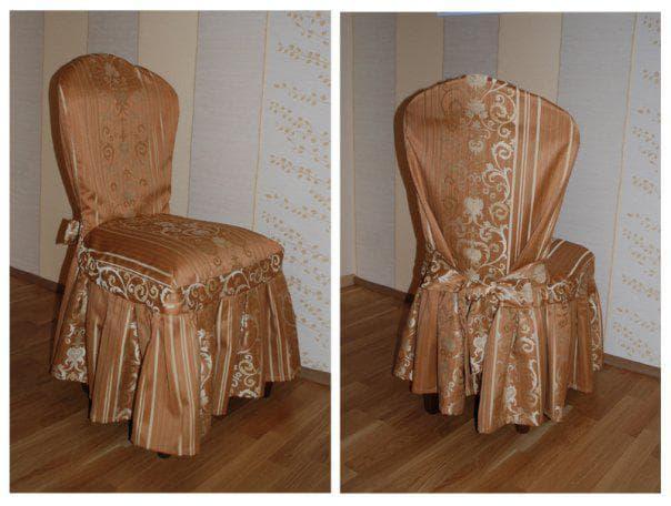 плотные чехлы на стул