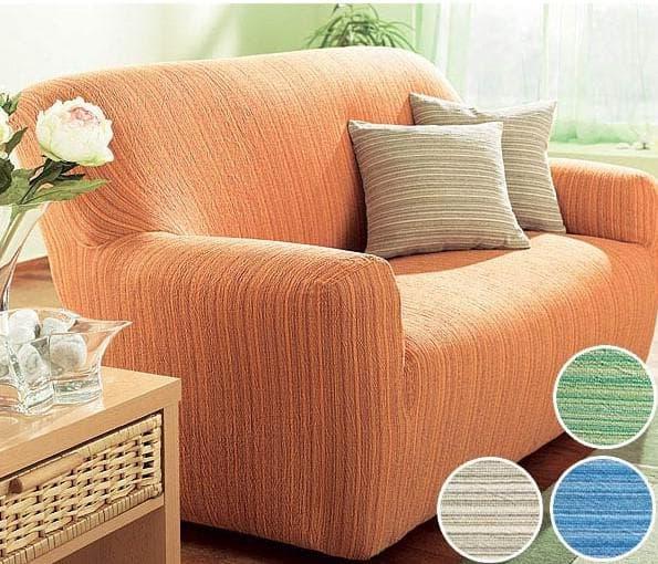 натяжной чехол на мягкую мебель
