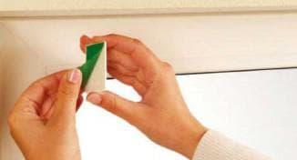 как правильно закрепить штоу на окно