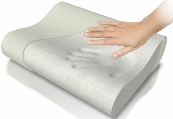ортопедическая подушка с синтетическим наполнителем