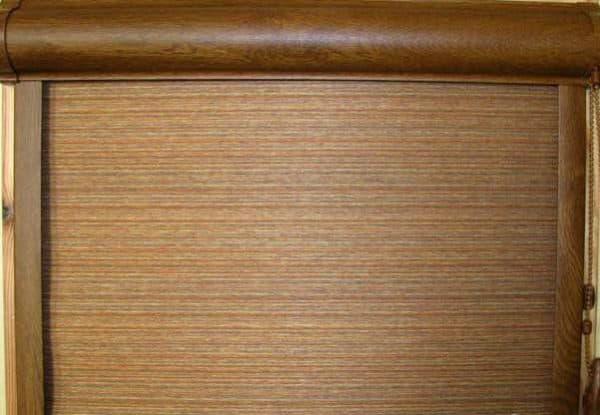 тканевые рулонные шторы закрытого типа