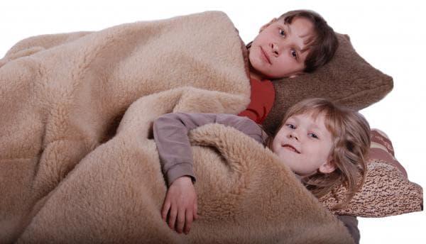 одеяло из верблюжей шерсти для детей