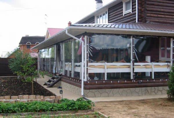 пластиковые шторы для защиты от влаги