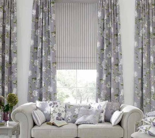 дизайнерские шторы в гостиную