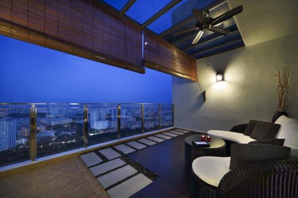 бамбуковые шторы для веранды