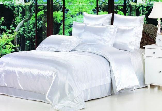 постельное бельё с ацетатом