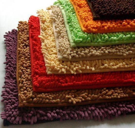 коврики для ванной из микрофибры