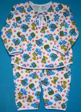 детская одежда из фланели