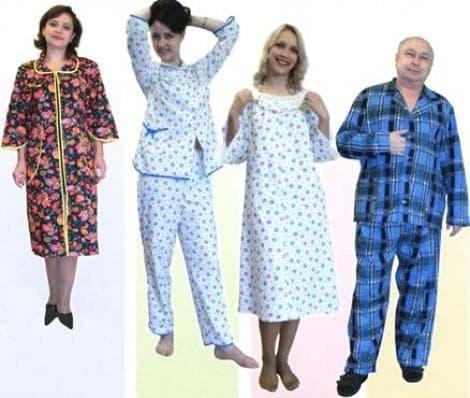 пижамы из фланели