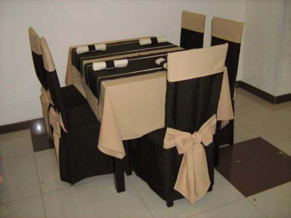 чехол для стула из габардина
