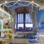 шторы в морском стиле