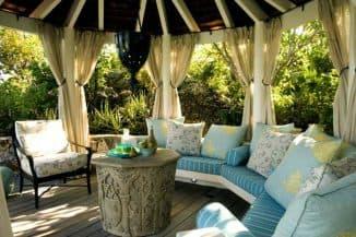 красивые шторы для террасы