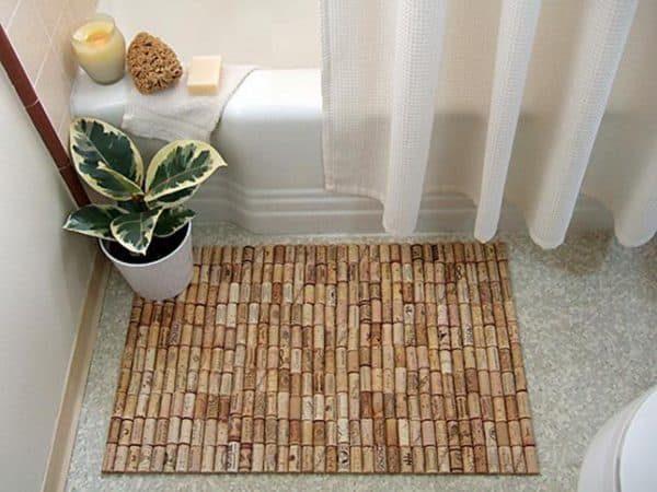 бамбуковые коврики на пол в ванную
