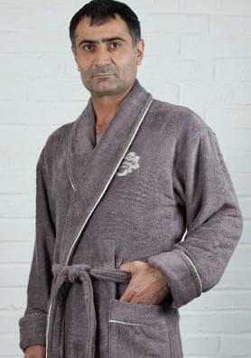 мужской бамбуковый халат